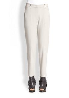 Brunello Cucinelli Wool & Viscose Trousers