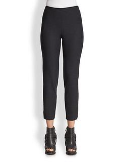 Brunello Cucinelli Wool Side-Zip Pants