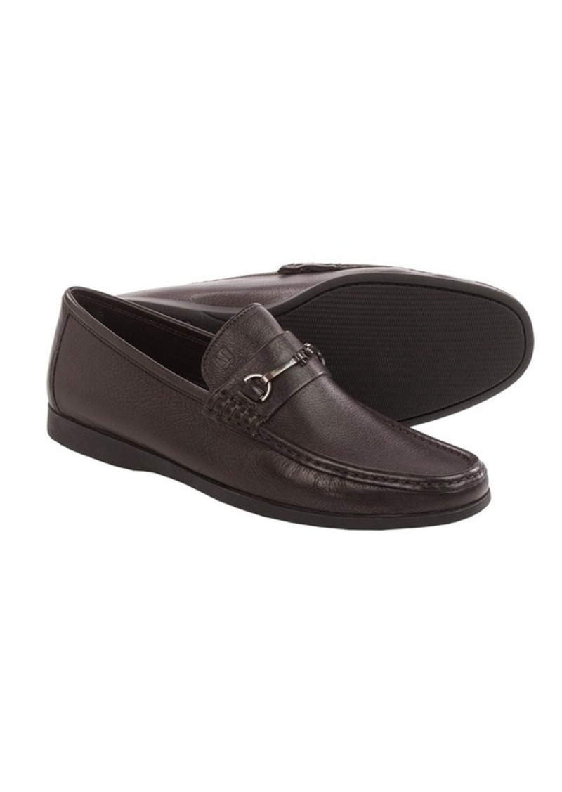 bruno magli bruno magli enaudin loafers leather for
