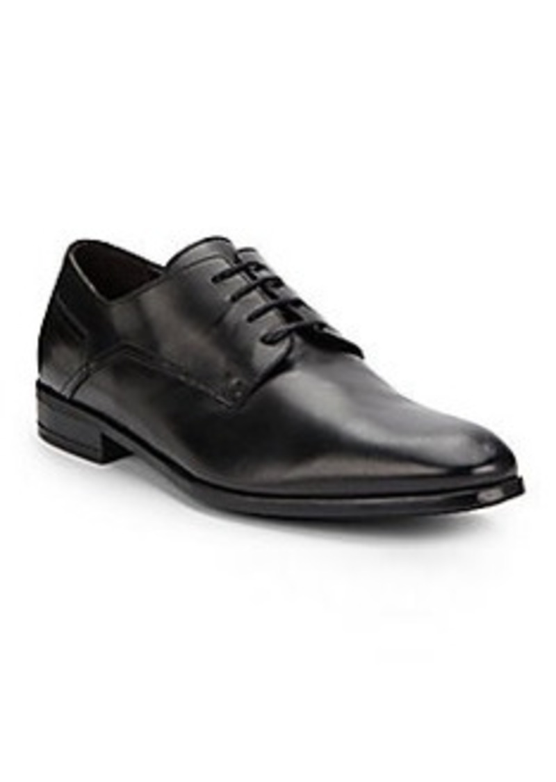 Bruno Magli Maitland Leather Lace Up Dress Shoes