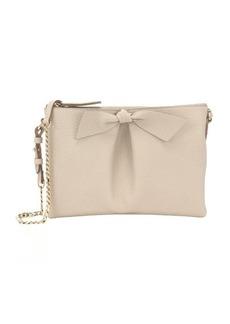 Burberry beige calfskin 'Amelia' convertible shoulder bag