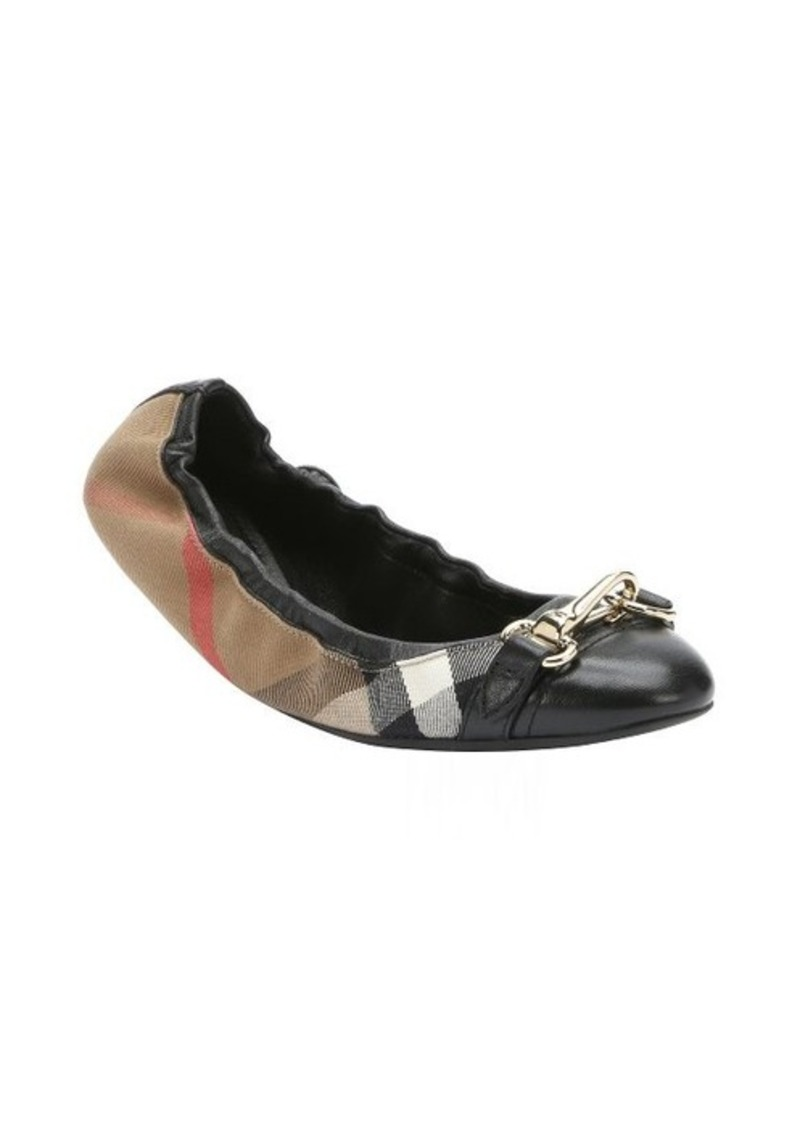 All Sales : Burberry Shoes Sale (Women's) : Burberry beige leather