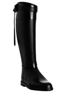 Burberry black belt detail rain boots