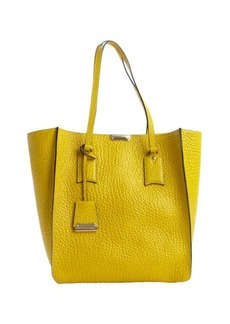 Burberry bright straw yellow leather 'Woodbury' tote