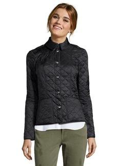 Burberry Brit black quilted nylon 'Kencott' jacket
