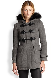 Burberry Brit Blackwell Toggle Coat