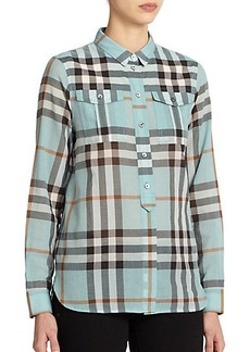 Burberry Brit Check-Patterned Shirt