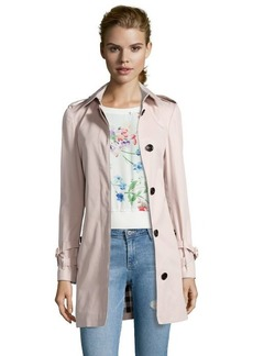 Burberry Brit ice pink cotton 'Rochester' trench coat