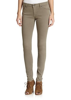 Burberry Brit Low-Rise Skinny Jeans