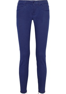 Burberry Brit Mid-rise skinny jeans