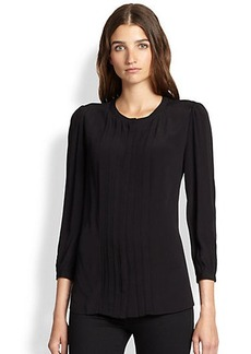 Burberry Brit Pleated Blouse