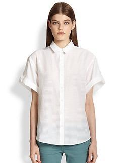 Burberry Brit Short-Sleeve Button-Front Shirt