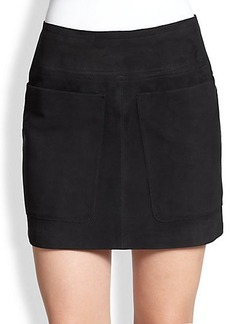 Burberry Brit Suede Skirt
