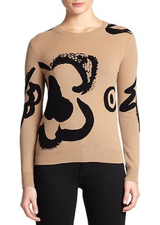 Burberry Brit Wool & Cashmere Intarsia Sweater