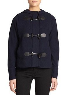 Burberry Brit Wool Toggle Sweater