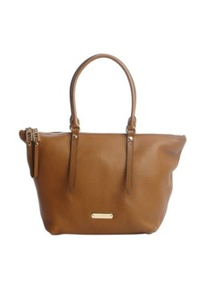 Burberry camel leather small 'Salisbury' tote