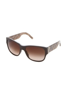Burberry London brown haymarket check square sunglasses