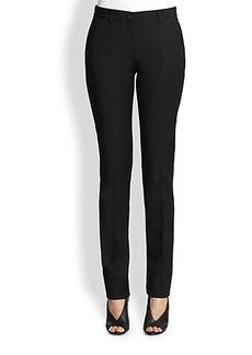 Burberry London Chalvey Straight-Leg Pants