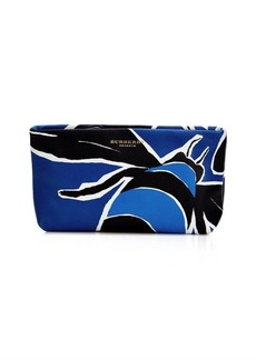 Burberry Prorsum Book cover print leather pouch