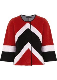 Burberry Prorsum Brushed wool-blend cardigan