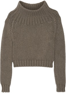Burberry Prorsum Chunky-knit cashmere sweater