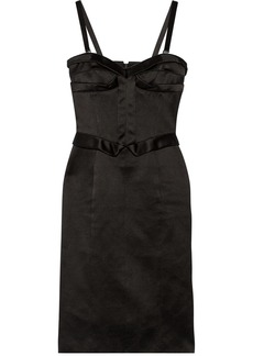 Burberry Prorsum Duchesse-satin dress