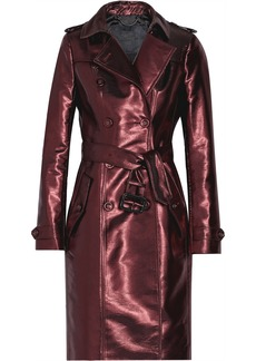 Burberry Prorsum Lamé trench coat