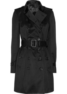Burberry Prorsum Mid-length cotton-sateen trench coat