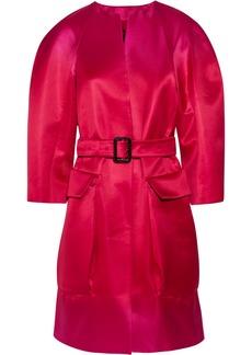 Burberry Prorsum Ombré silk cocoon coat