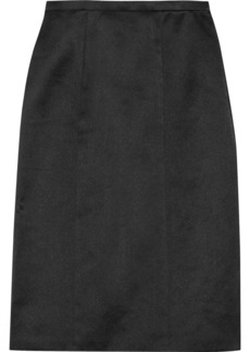 Burberry Prorsum Satin pencil skirt