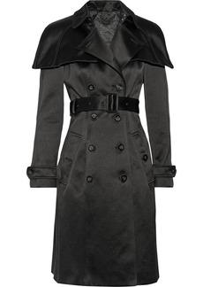 Burberry Prorsum Satin trench coat
