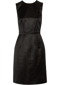 Burberry Prorsum Silk-satin dress