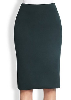 Burberry Prorsum Stretch Wool Pencil Skirt
