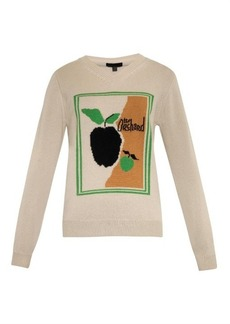 Burberry Prorsum The Orchard cashmere sweater
