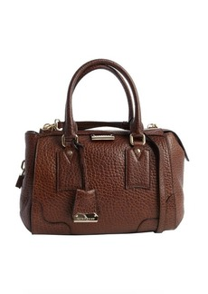 Burberry toffee leather heritage vintage small 'Gladstone' tote