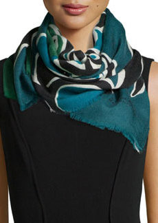 Insects of Britain Scarf, Blue   Insects of Britain Scarf, Blue