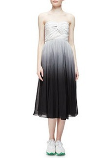 Strapless Twisted Degrade Dress   Strapless Twisted Degrade Dress