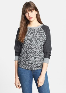 C & C California Animal Print Sweatshirt