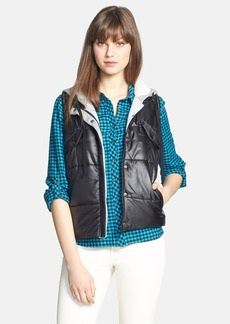 C & C California Hooded Quilted Vest