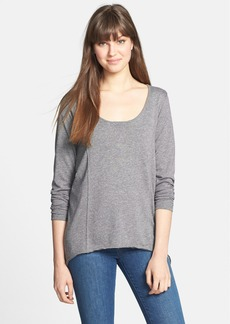 C & C California Scoop Neck Tunic Tee