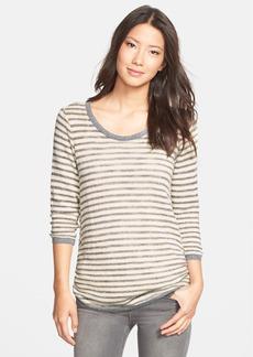 C & C California Speckled Stripe Knit Tunic