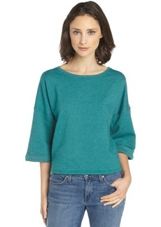 C & C California spruce green bell sleeve sweatshirt
