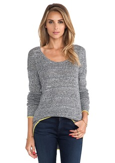 C&C California Angora Mesh Sweater