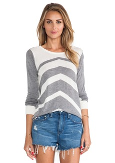 C&C California Chevron Stripe Sweater