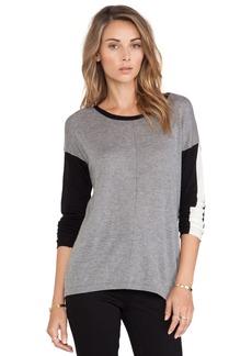 C&C California Colorblocked Sweater