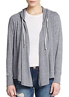 C&C California Draped Hooded Cardigan