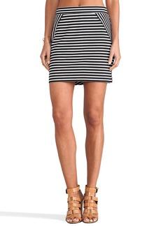 C&C California Fitted Mini Skirt