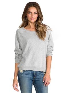 C&C California French Terry Raglan Sweatshirt in Gray
