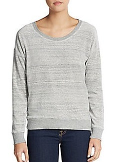 C&C California Heathered Dropped Shoulder Pullover