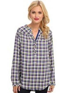 C&C California High-Low Tunic w/ Shirring Detail